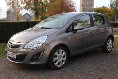 Botenfahrzeug Opel Corsa